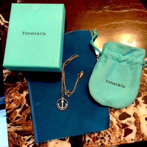 Tiffany & Co. Jewelry - Authentic Tiffany & Co Silver Anchor Necklace